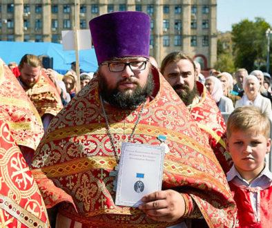 Выпускник Витебской духовной школы награжден за спасение из огня пожилого инвалида