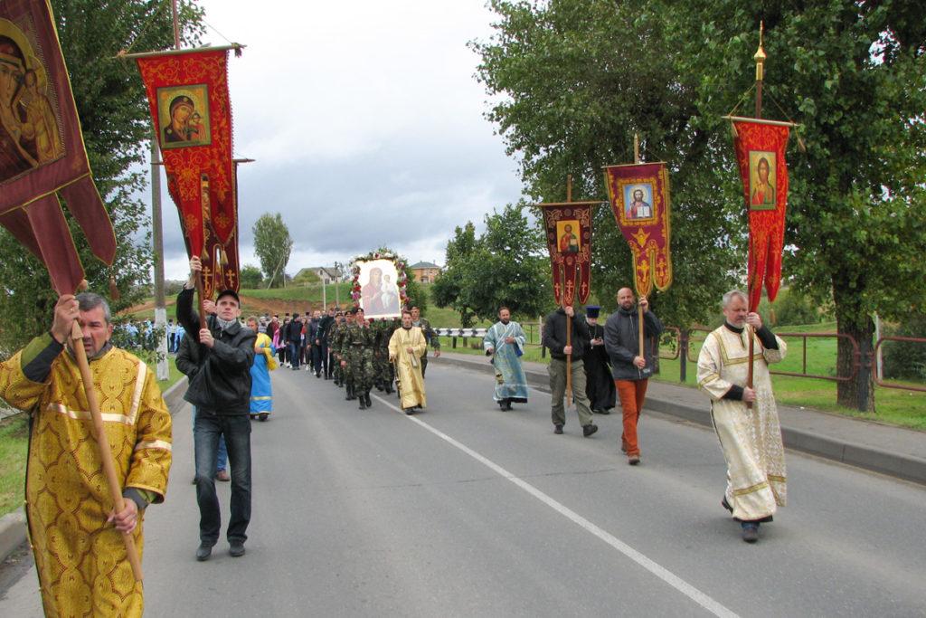Ректор семинарии возглавил торжества, посвященные дню памяти Оршанской иконы Божией Матери
