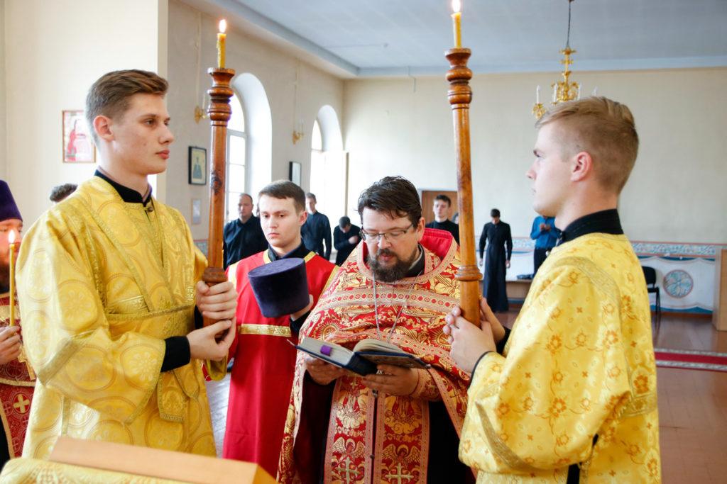 В Витебской духовной семинарии почтили день празднования Усекновения главы Пророка, Предтечи и Крестителя Господня Иоанна