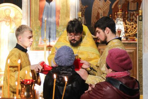 Воскресное богослужение в Неделю 18-ю по Пятидесятнице возглавил первый проректор семинарии протоиерей Константин Изофатов