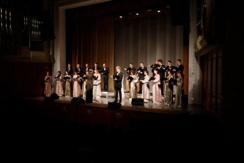 Семинаристы посетили концерт камерной музыки «На хвалі пачуццяў» в Витебской областной филармонии