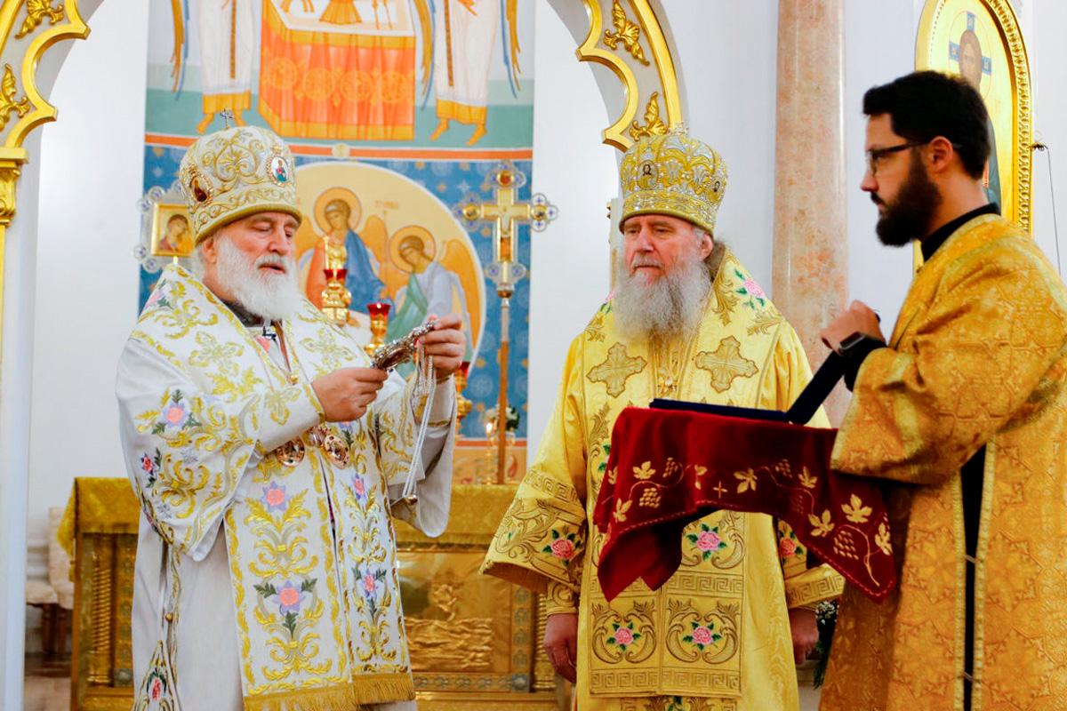 В Витебске отметили 30-летие восстановления епископской кафедры и архиерейской хиротонии архиепископа Витебского и Оршанского Димитрия