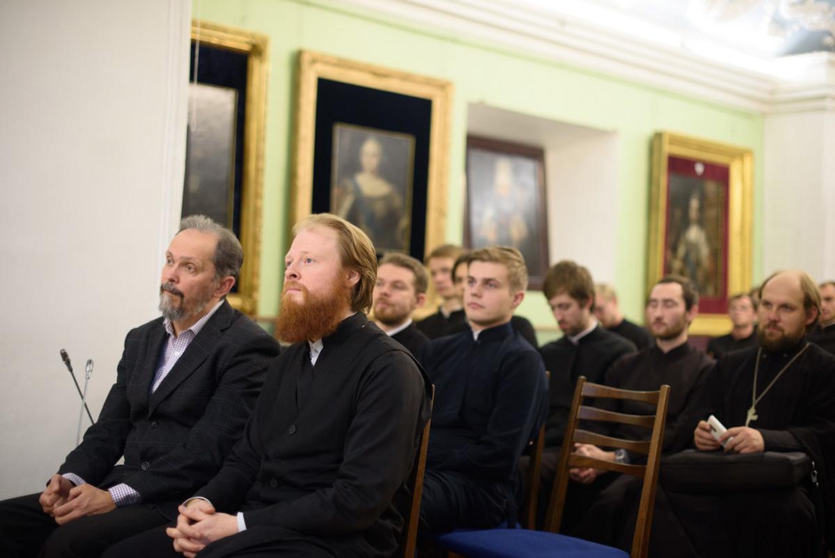 Студент 3-го курса семинарии выступил с докладом на ежегодной научно-богословской конференции в Московской духовной академии