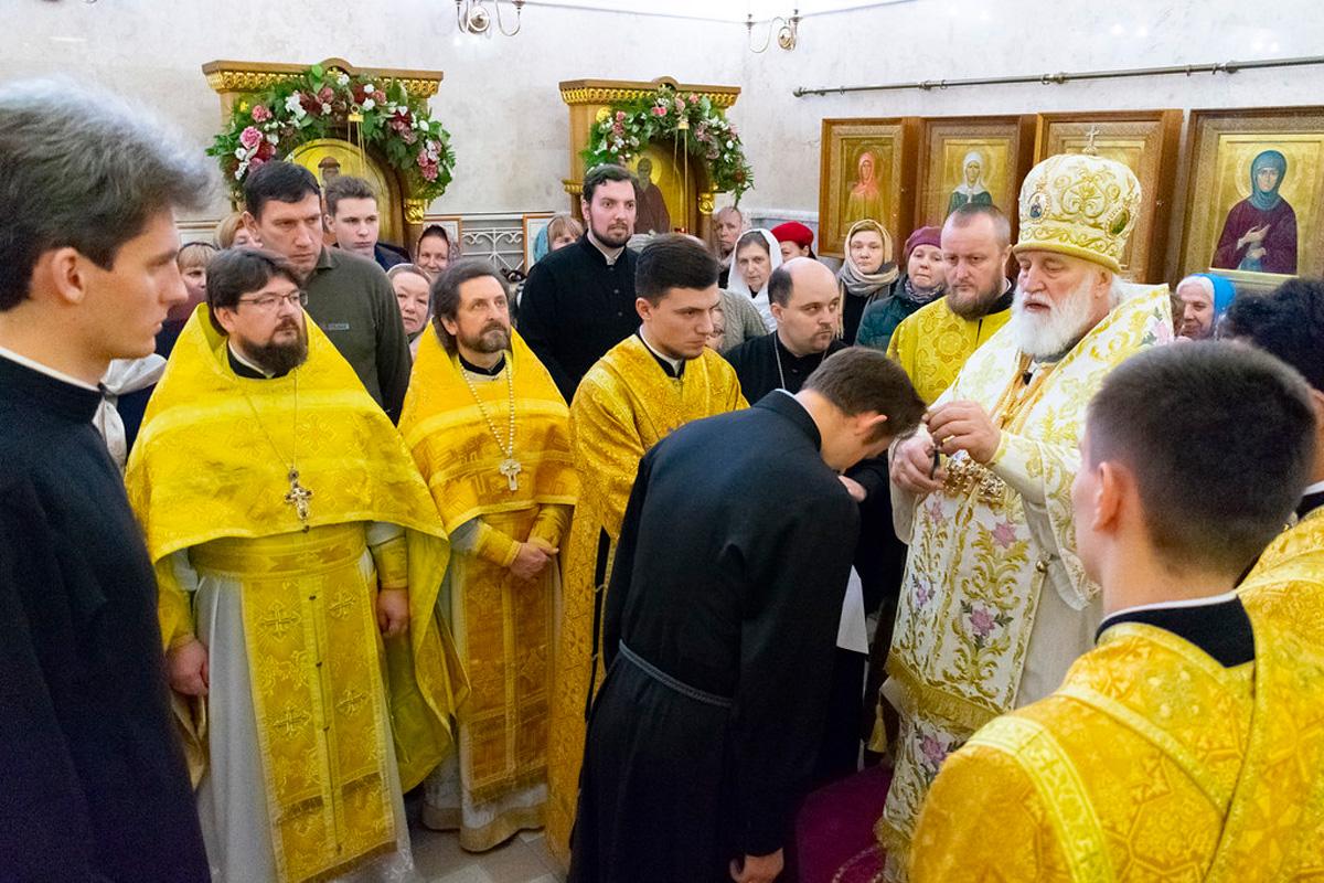 Первый проректор семинарии принял участие в торжествах по случаю актового дня Минской духовной академии и Минского духовного училища