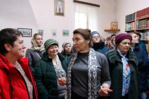 Для Библиотекарей учреждений образования Витебской области была проведена экскурсия по семинарии