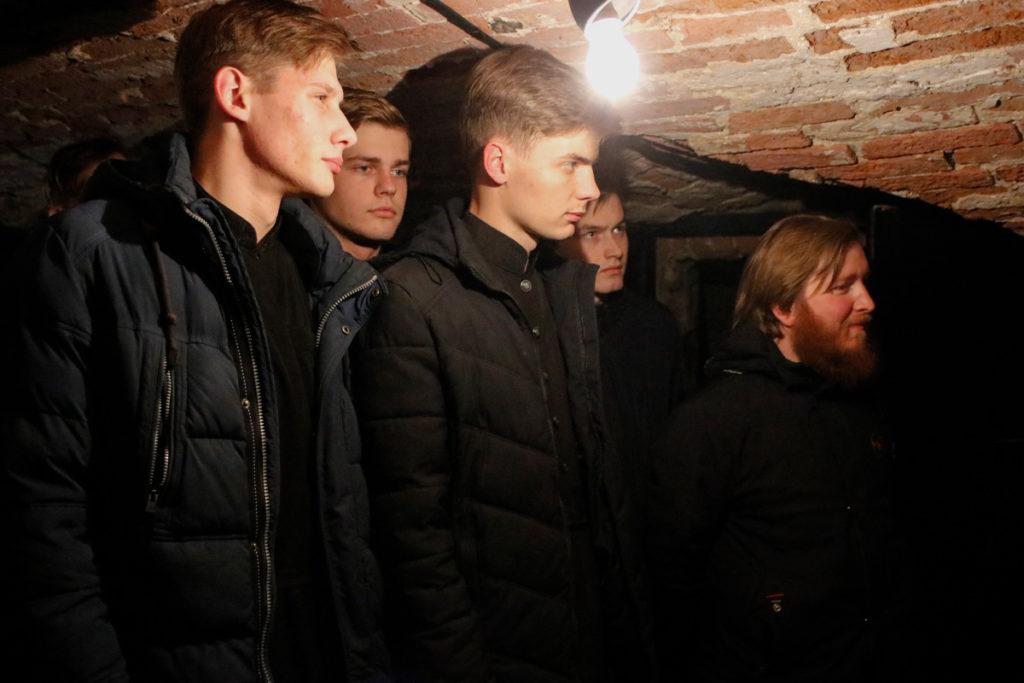 Семинаристы посетили экспозицию «Памяти патриотов Витебщины»