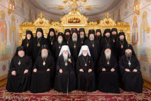 Ректор семинарии принял участие в очередном заседании Синода Белорусской Православной Церкви