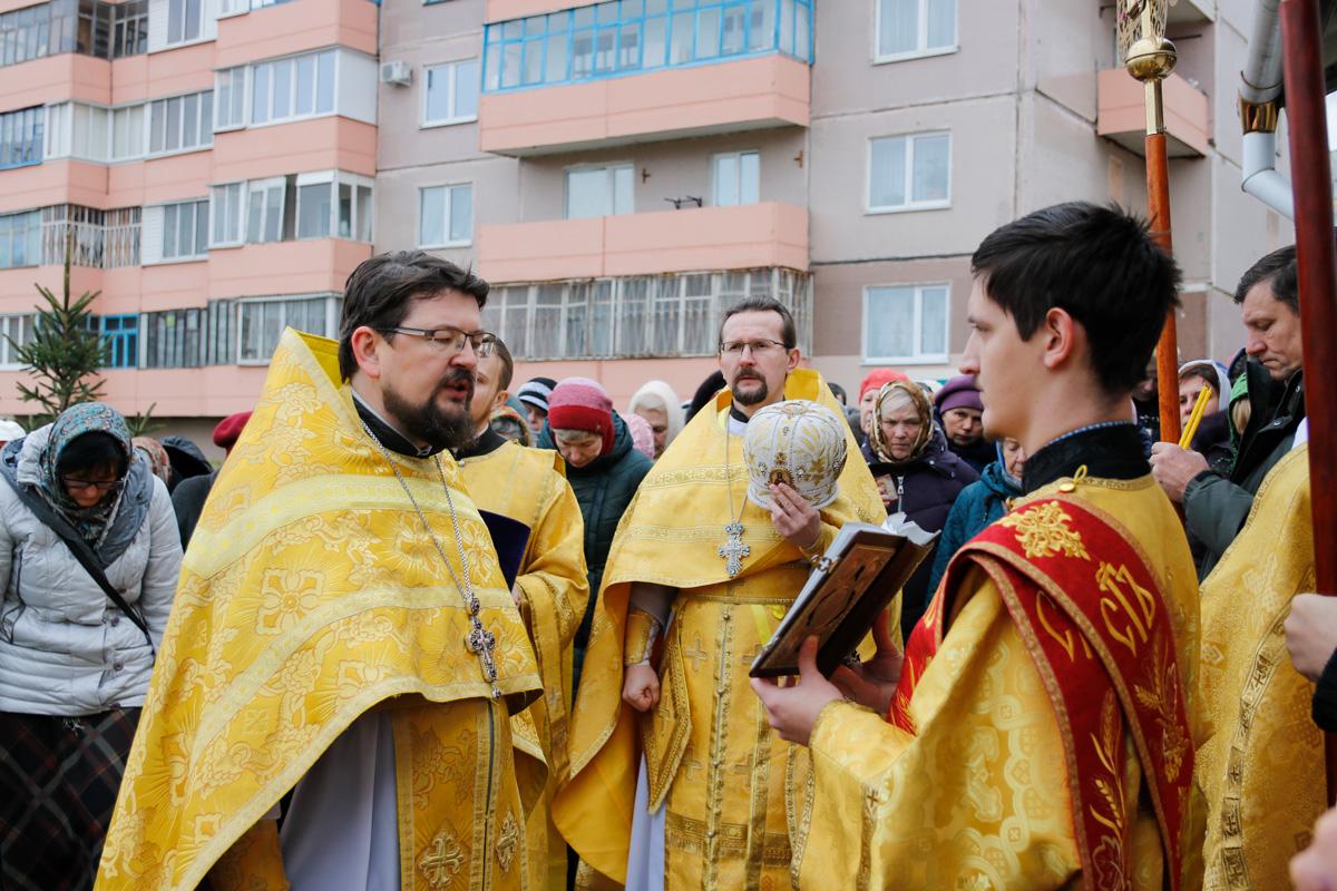Первый проректор семинарии сослужил секретарю Витебской епархии в день памяти святого апостола Андрея Первозванного