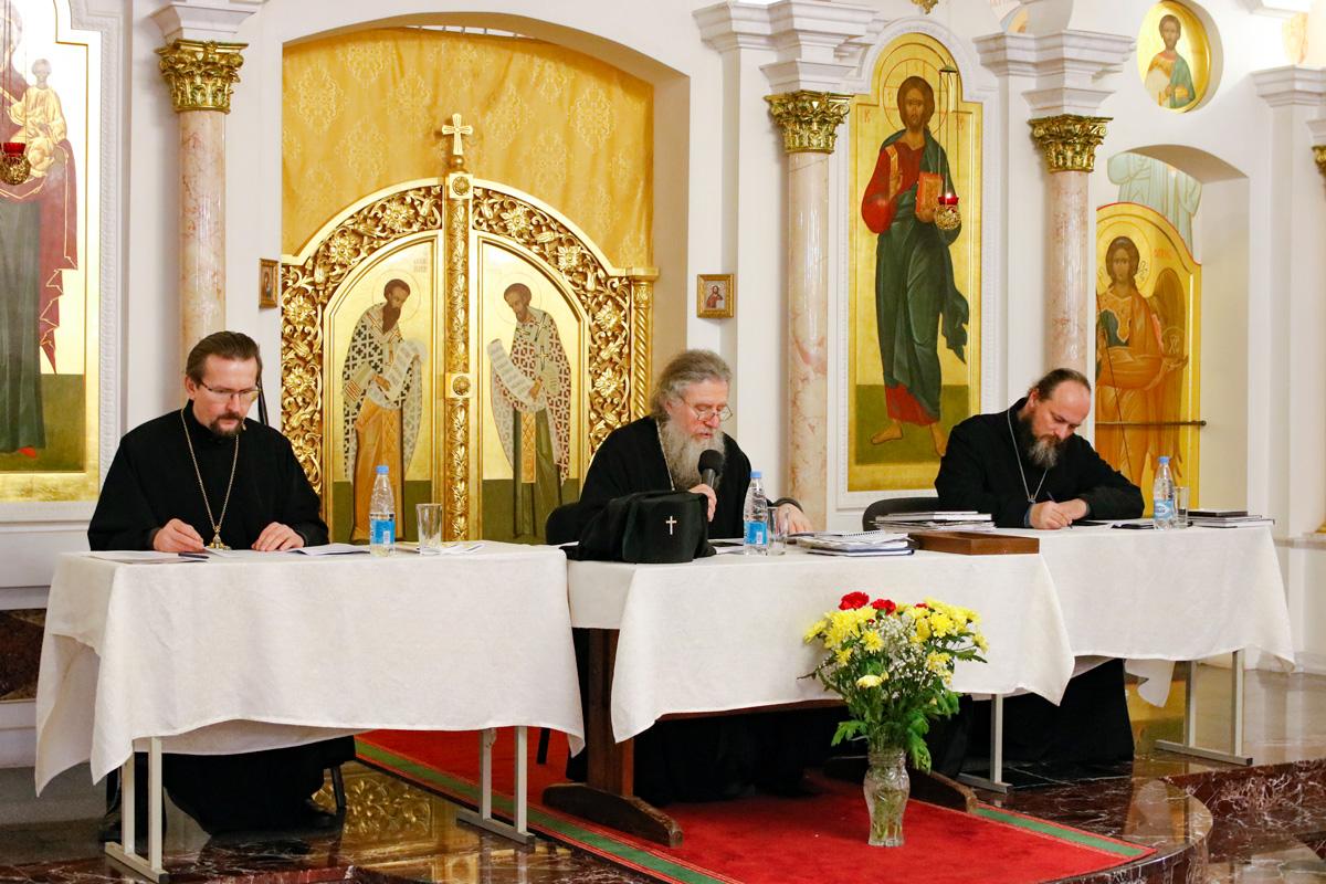 Руководство семинарии приняло участие в ежегодном отчётном собрании духовенства и мирян Витебской епархии