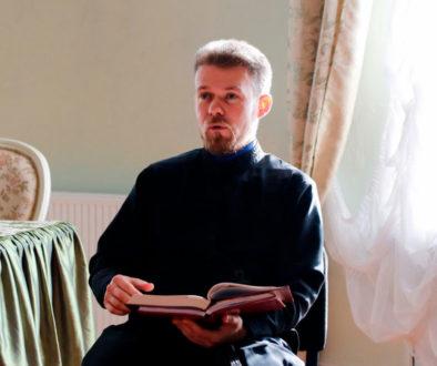 Преподаватель литургики прочитал лекцию для посетителей отделения дневного пребывания территориального центра социального обслуживания Железнодорожного района