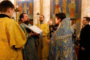 В Витебской духовной семинарии почтили праздник Введения во храм Пресвятой Богородицы