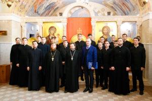 Представители семинарии приняли участие в международной научной конференции «Духовные ценности восточнославянского мира»