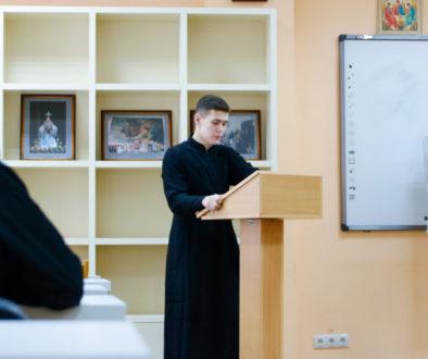 В семинарии прошла защита курсовых работ