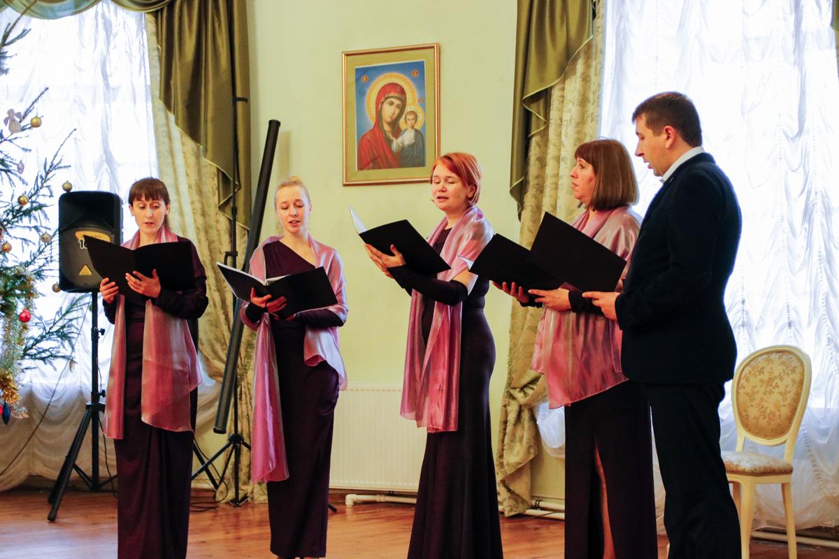 Семинарский хор принял участие в Открытом областном празднике духовной музыки