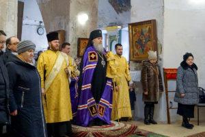Служение ректора в Неделю о мытаре и фарисее