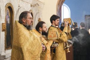 В Неделю 33-ю по Пятидесятнице семинаристы помолились в Свято-Троицком Марковом мужском монастыре