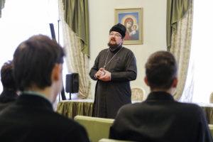 Первый проректор семинарии поделился со студентами впечатлениями от поездки на Святую землю