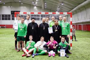 Футбольная команда Витебской духовной семинарии заняла 3-е место в Сретенском этапе Международного кубка кубке святого князя Димитрия Донского