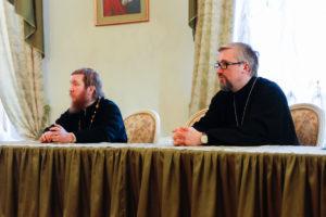 Духовник семинарии побеседовал со студентами о семейной жизни