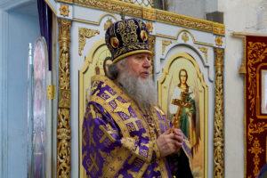 В субботу первой седмицы Великого поста архиепископ Димитрий совершил Литургию в храме святой великомученицы Ирины