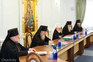 Ректор семинарии принял участие в заседаниеи Синода Белорусской Православной Церкви