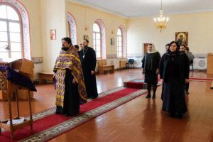 В семинарии помолились об избавлении от коронавирусной инфекции