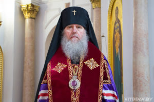 Пасхальное приветствие архиепископа Витебского иОршанского Димитрия всем православным христианам