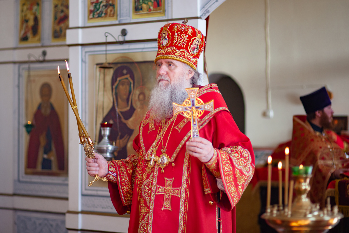 Престольный праздник в Витебской духовной семинарии