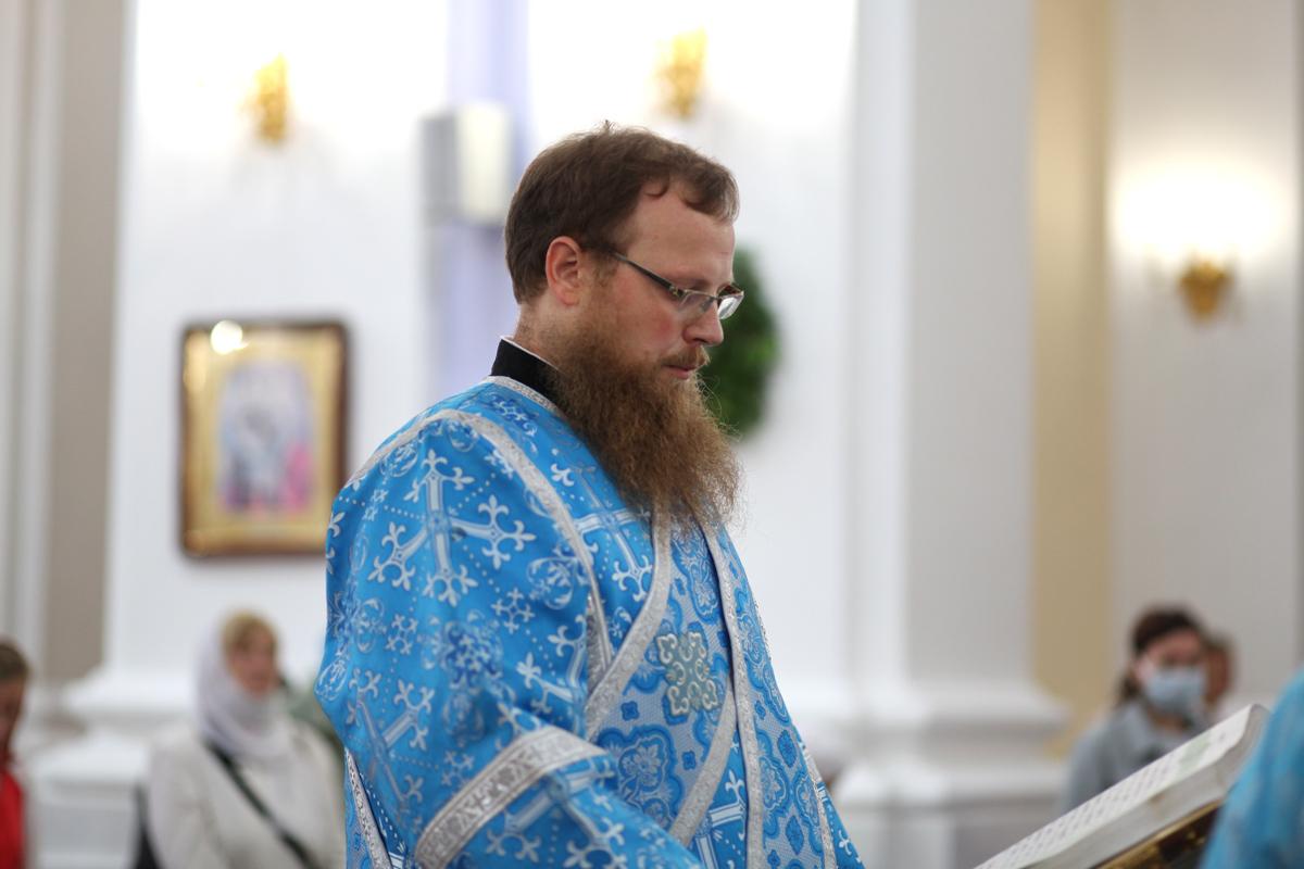 Ректор семинарии возглавил торжества по случаю престольного праздника Свято-Успенского кафедрального собора города Витебска