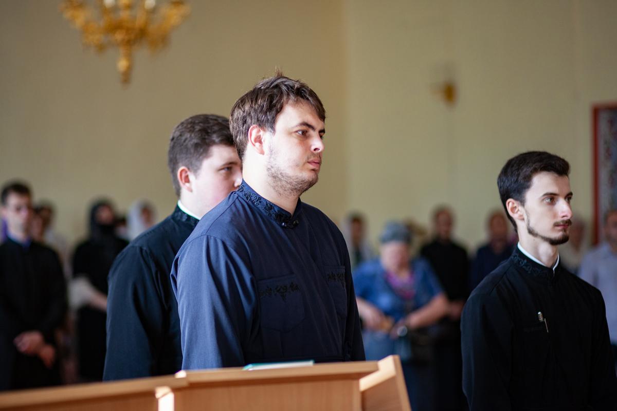 Торжественный выпускной акт в Витебской духовной семинарии в 2020 году
