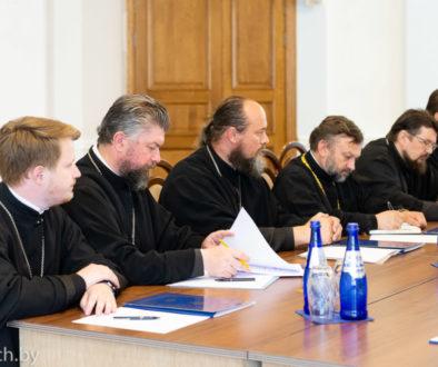 Руководство семинарии приняло участие в рабочем совещании ректоров и проректоров духовных учебных заведений Белорусской Православной Церкви