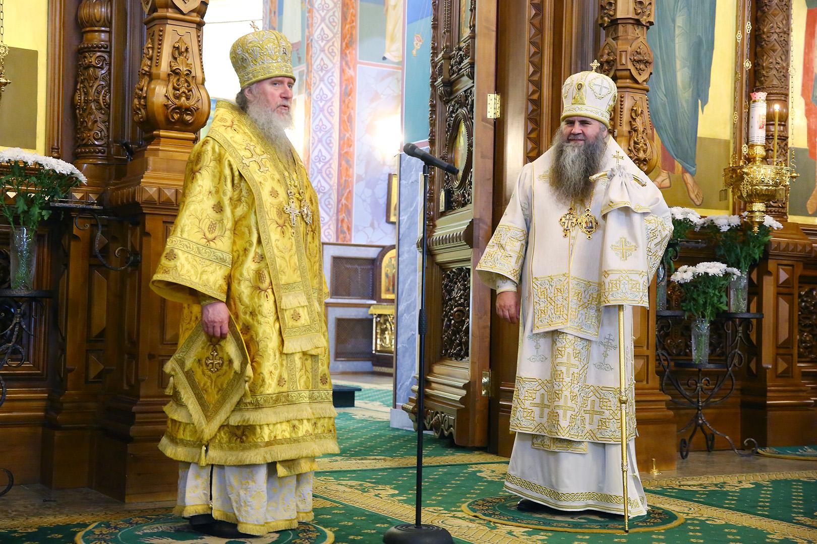 В день памяти святых первоверховных апостолов Петра и Павла ректор семинарии сослужил митрополиту Нижегородскому и Арзамасскому Георгию