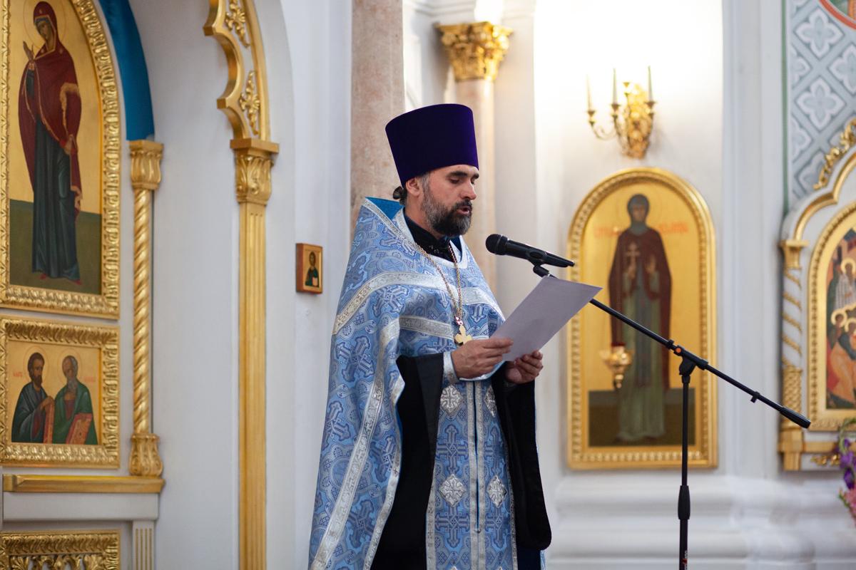 В праздник Успения Пресвятой Богородицы ректор семинарии рукоположил проректора по воспитательной работе в сан иерея