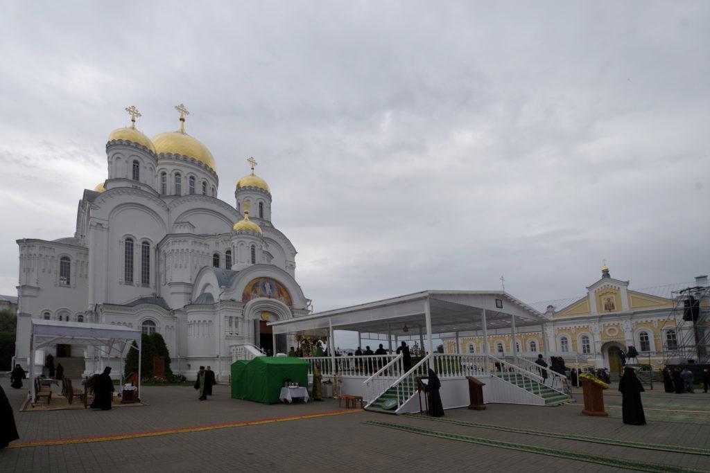 Ректор семинарии принял участие в дне празднования памяти преподобного Серафима Саровского в Свято-Троицком Серафимо-Дивеевском монастыре