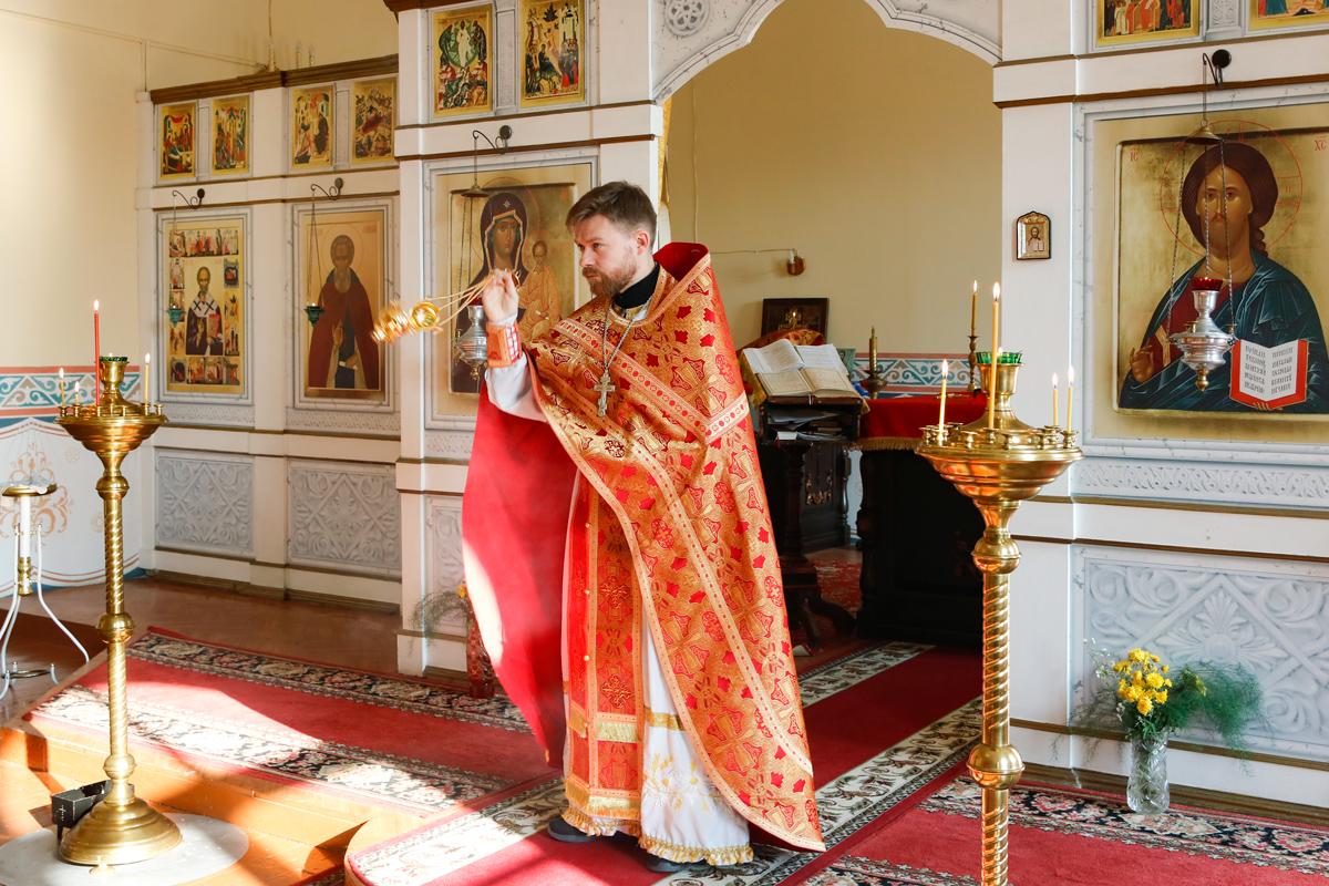 В Витебской духовной семинарии почтили праздник Усекновения главы Иоанна Предтечи
