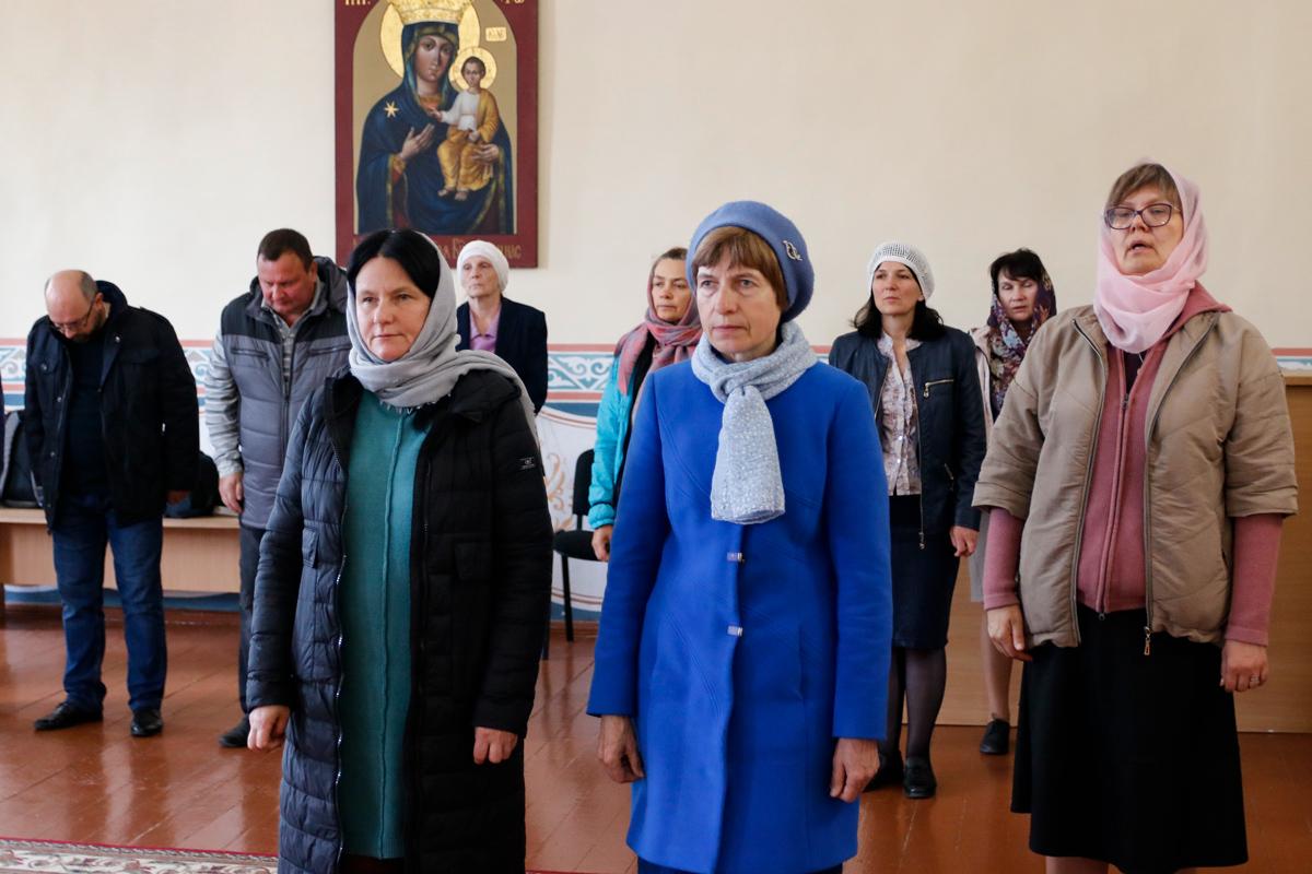 Начались занятия на богословско-педагогическом отделении семинарии