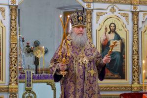 В день своего тезоименитства ректор семинарии совершил Литургию в храме святой великомученицы Ирины