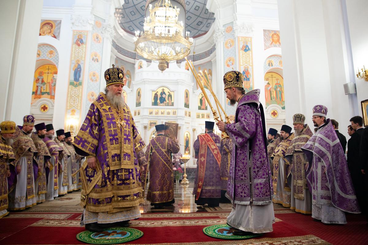 Патриарший Экзарх всея Беларуси софициальным визитом посетил город Витебск