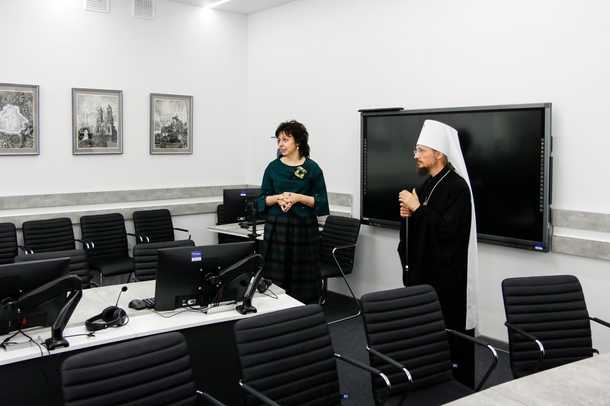 Патриарший Экзарх всея беларуси посетил Витебский государственный университет имени П. М. Машерова