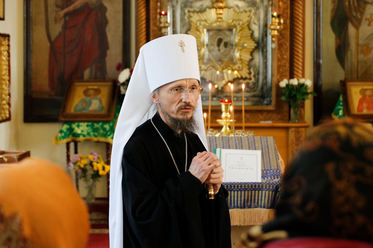 Официальный визит митрополита Минского и Заславского Вениамина в Витебск