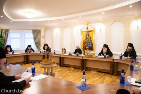 Ректор Витебской духовной семинарии принял участие в совещании архиереев Белорусской Православной Церкви
