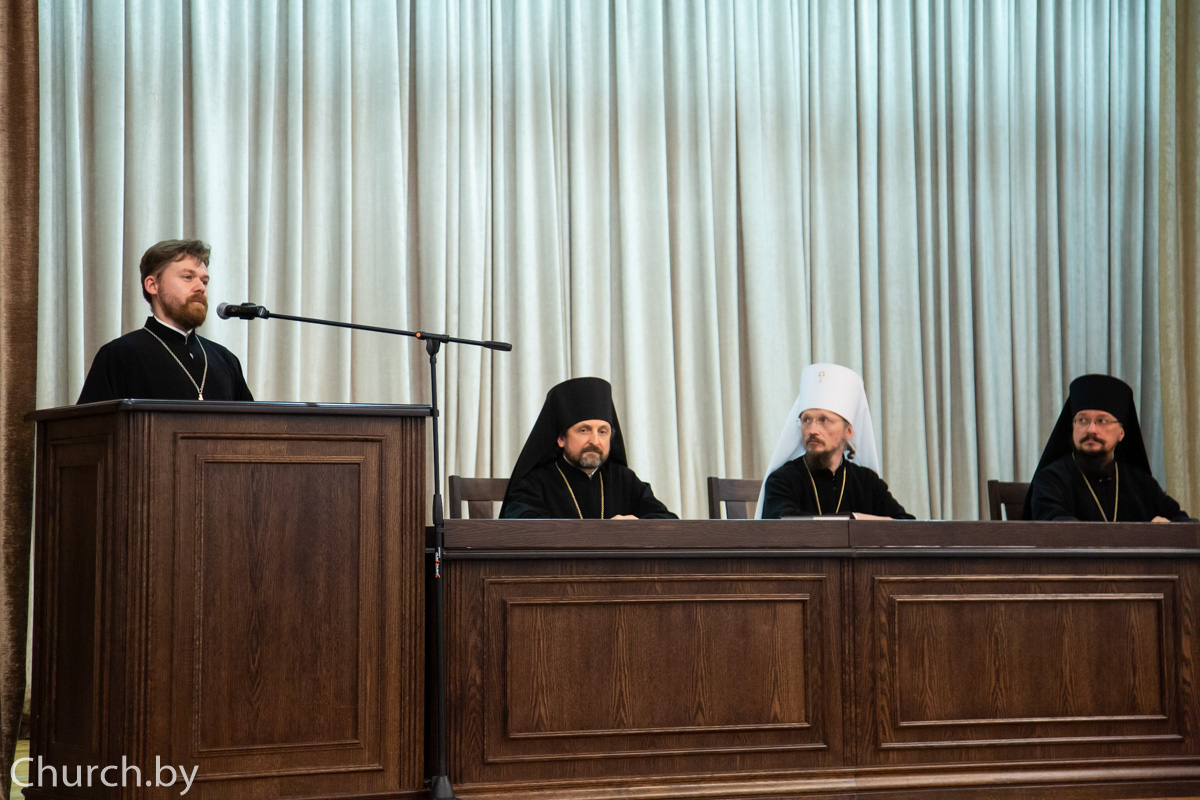 Проректор по воспитательной работе принял участие в торжествах по случаю актового дня Минской духовной академии