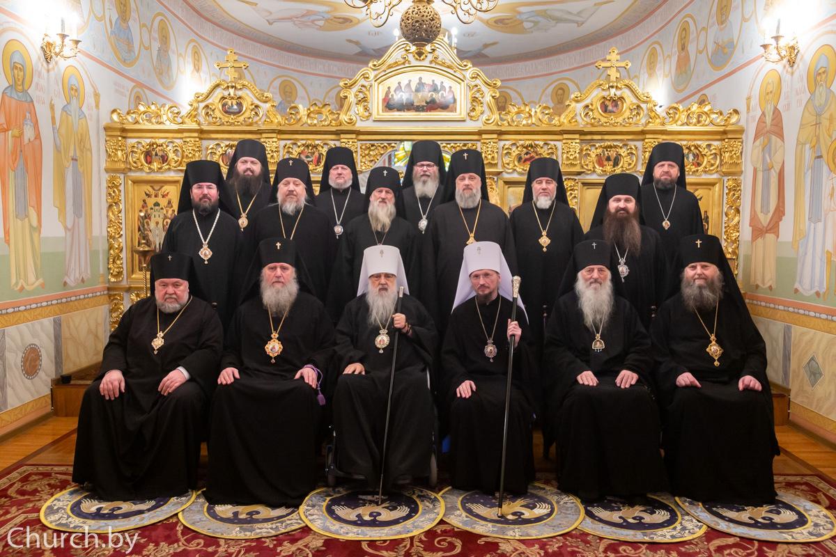 Ректор семинарии поздравил Почетного Патриаршего Экзарха всея Беларуси митрополита Филарета с днем тезоименитства