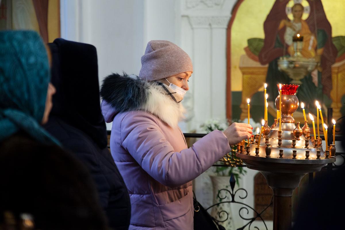 Божественная литургия в праздник Крещения Господня. Фоторепортаж