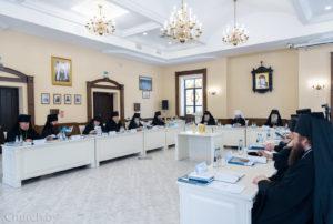 Состоялось заседание Синода Белорусской Православной Церкви
