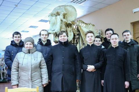 Семинаристы посетили анатомический музей Витебской государственной академии ветеринарной медицины