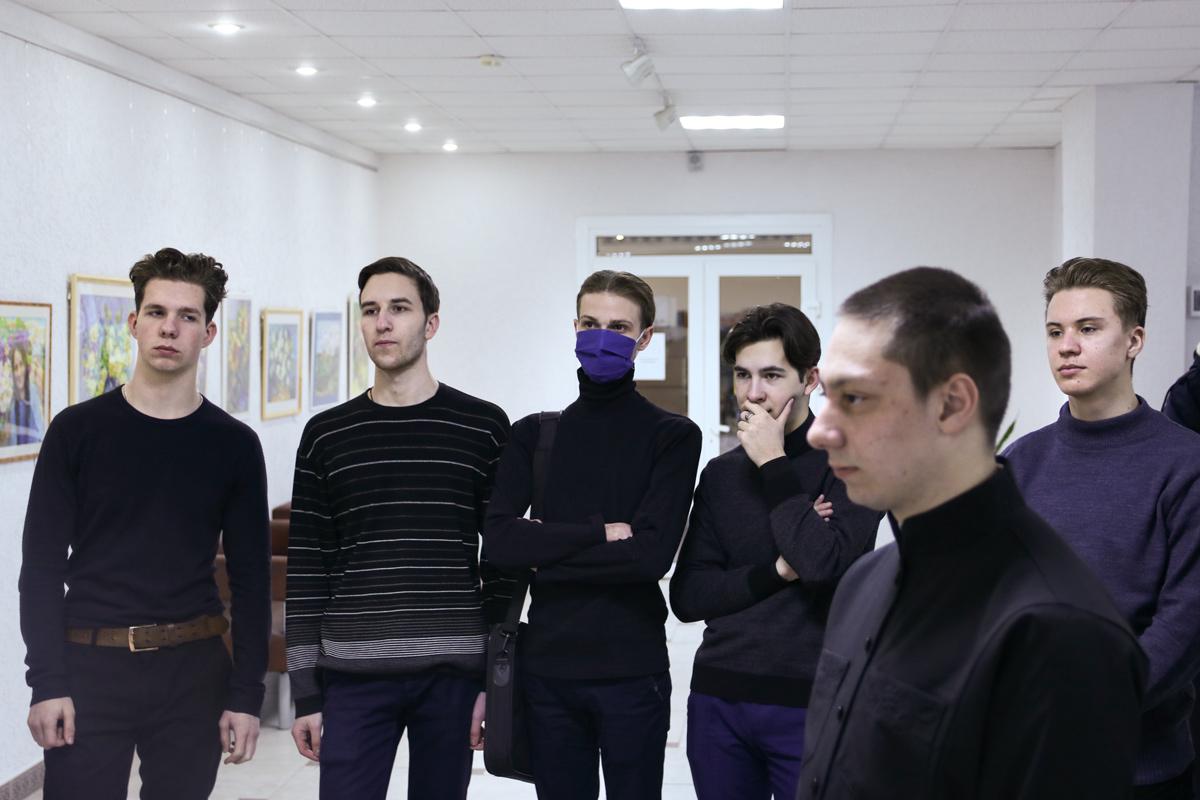 Семинаристы посетили Витебскую областную библиотеку имени В. И. Ленина