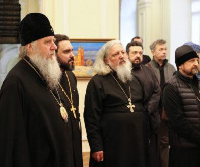 Витебскую духовную семинарию посетила Комиссия по анализу и совершенствованию учебно-воспитательского процесса в духовных учебных заведениях Белорусского Экзархата