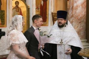 Первый проректор семинарии совершил Таинство Венчания студента 5-го курса
