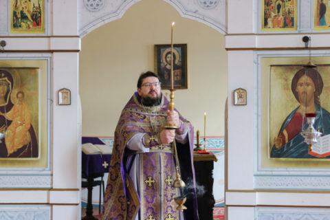 В день памяти 40-ка мучеников Севастийских в семинарском храме была совершена Литургия Преждеосвященных Даров